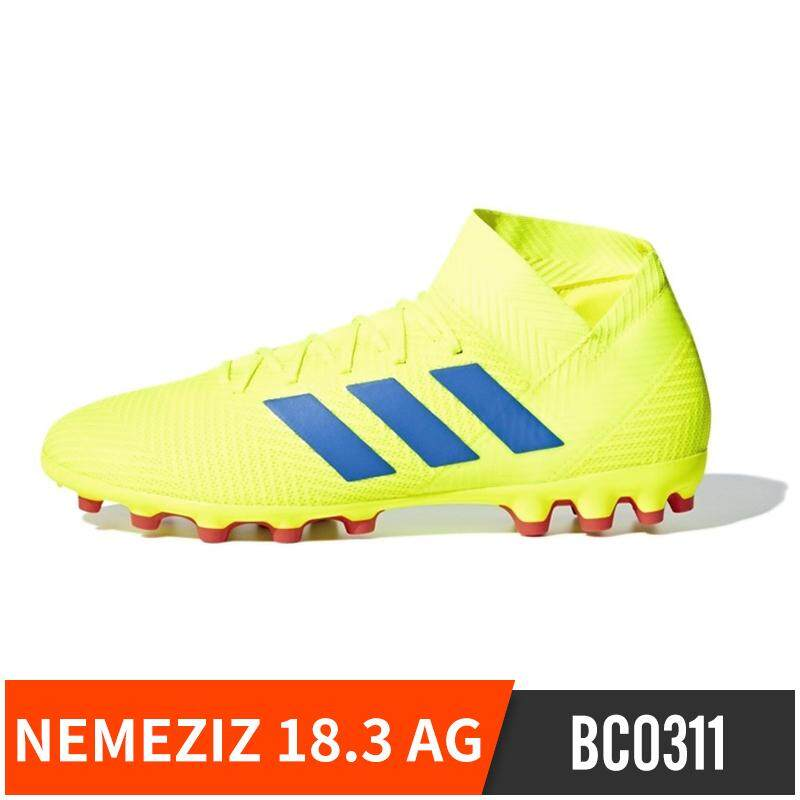 Aaidas Adidas Nemeziz Tango 18.3 Astroturf Trainers AG Nail Short Nail Game  Training Grass Football Shoes 12a515f9e4