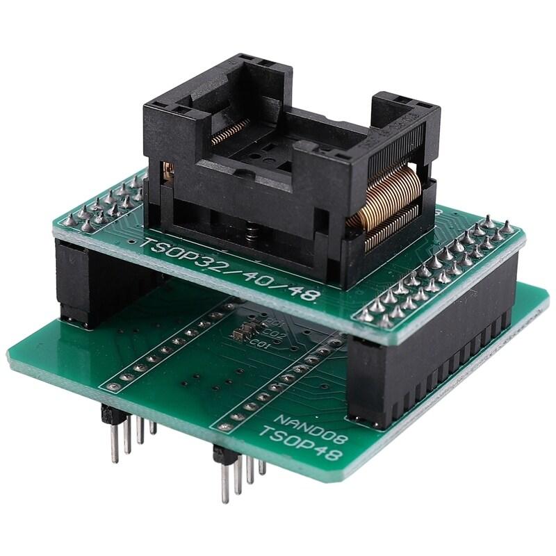 Bảng giá Andk Tsop48 Nand Adapter Only For Xgecu Minipro Tl866Ii Plus Programmer For Nand Flash Chips Tsop48 Adapter Socket Phong Vũ