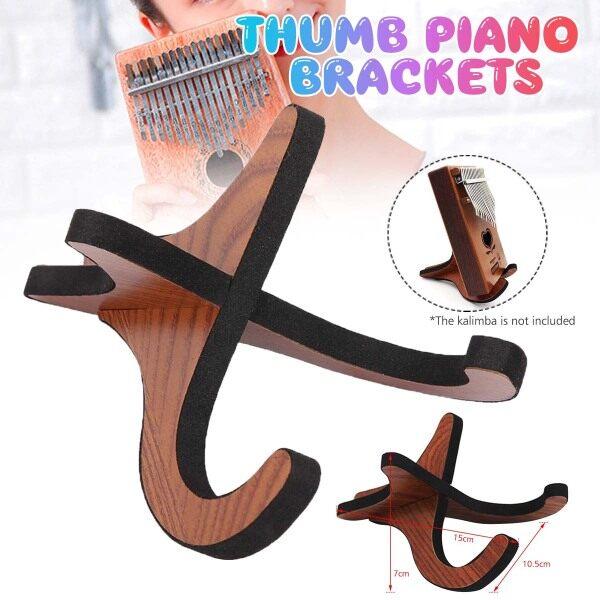 Percuma】 Penghantaran + Super Deal + Terhad Offer】portable Kayu Yang Boleh Dilipat Pemegang Berdiri Lipat Paparan Berdiri Rak untuk Ibu Jari Aksesori Piano- Malaysia