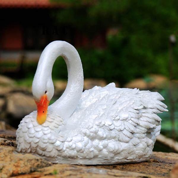 Rac Nhựa Thiên Nga Đồ Trang Trí Nổi Trong Nước Sân Vườn Nhà Hồ Trang Trí