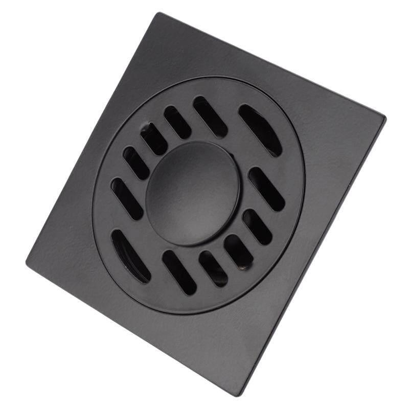 Stainless Steel Floor Drain Heavy Duty Floor Drain Cover Home Bathroom Shower Waste Drainer Thickened Waste Floor Drain Black 2#