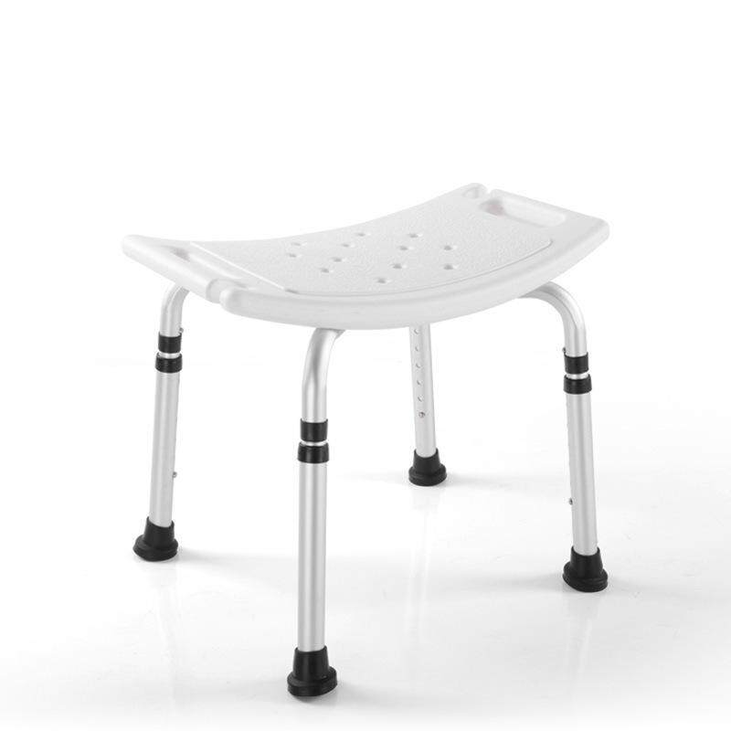 Aluminum Alloy Shower Bath Stool Chair the Aged Old People Pregnant Woman Safety Care