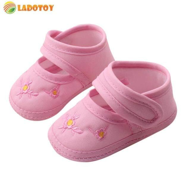 [Ladotoy] Trẻ Sơ Sinh Giày Mềm Cho Bé Giày Cho Trẻ Mới Biết Đi Nhãn Dán Tập Đi giá rẻ