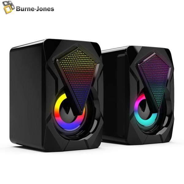 Bảng giá Loa Máy Tính Hỗ Trợ USB X2 Loa Bass Đa Phương Tiện 3Wx2 Có Đèn RGB Cho Máy Tính Xách Tay Để Bàn Phong Vũ