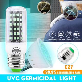 Bóng Đèn Diệt Khuẩn UVC, Đèn LED UV Ổ Cắm Vít E27 Đèn Tia Cực Tím 110V 220V Đèn Khử Trùng Diệt Khuẩn-110V-E2772 thumbnail