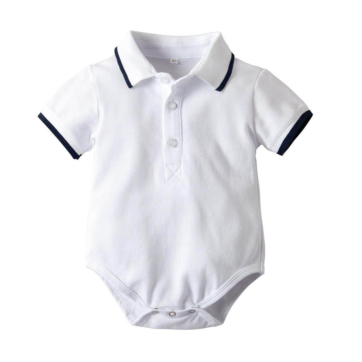 ab5ac9abe Summer newborn baby boys clothes Cotton Fashion letter printing baby boy  polo T shirt for 0