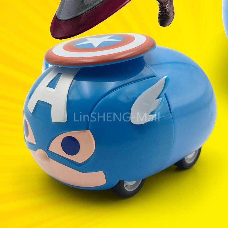 Lsmalloy รถของเล่นขนาดเล็กกระเป๋าแบบพกพาอนิเมชั่นการ์ตูนน่ารักการ์ตูน By Linsheng-Mall.