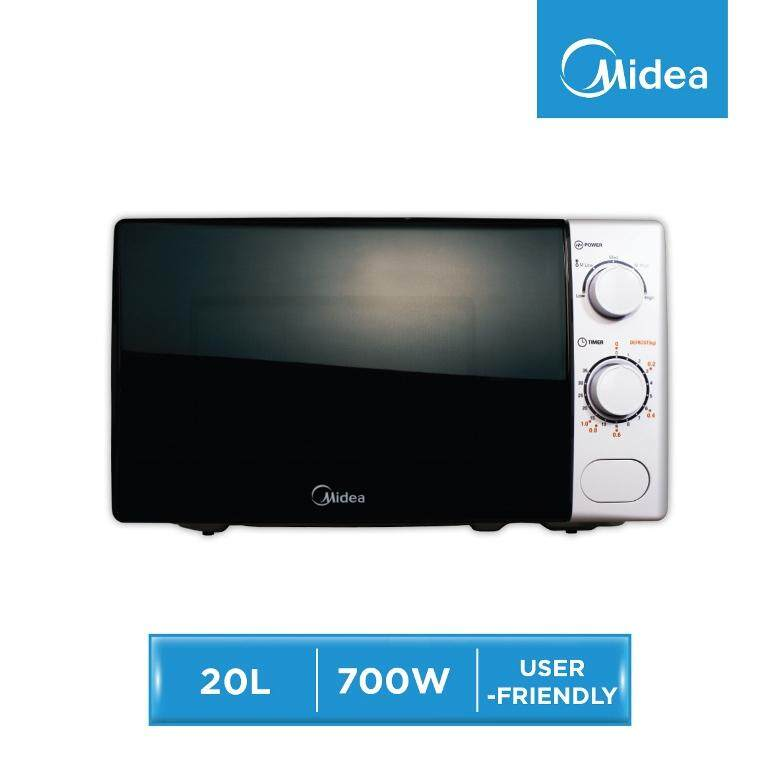 Midea MM720CM Microwave Oven 20L - White Color