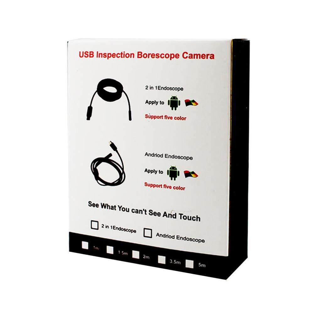 AutumBin 3 In 1 Wireless Wifi Mini Endoscope Camera Soft Wire Tube HD Lens  USB Camera IP67 Waterproof Inspection Camera Video Recorder