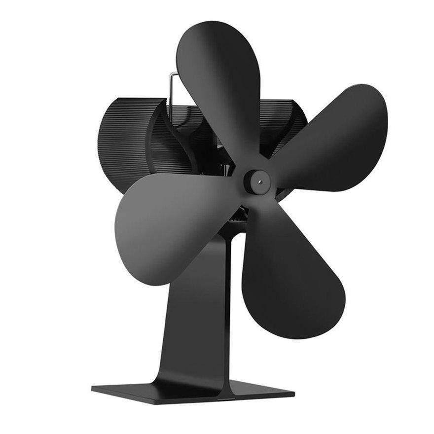 ANEXT Heat Powered Stove Fan Log Wood Burner Ecofan Quiet Home Fireplace Fan