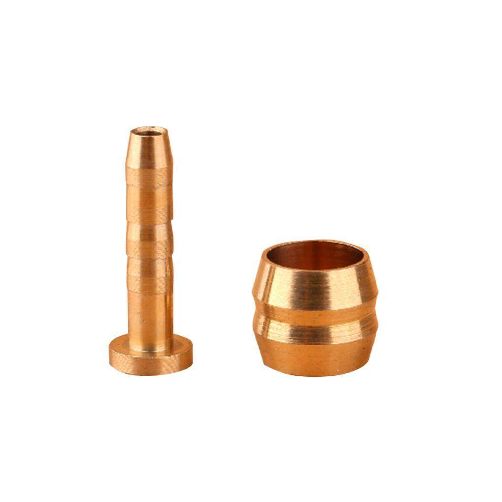 Mountain Bicycle Bike Copper Oil-pressure Pipe Joint Hydraulic Fittings