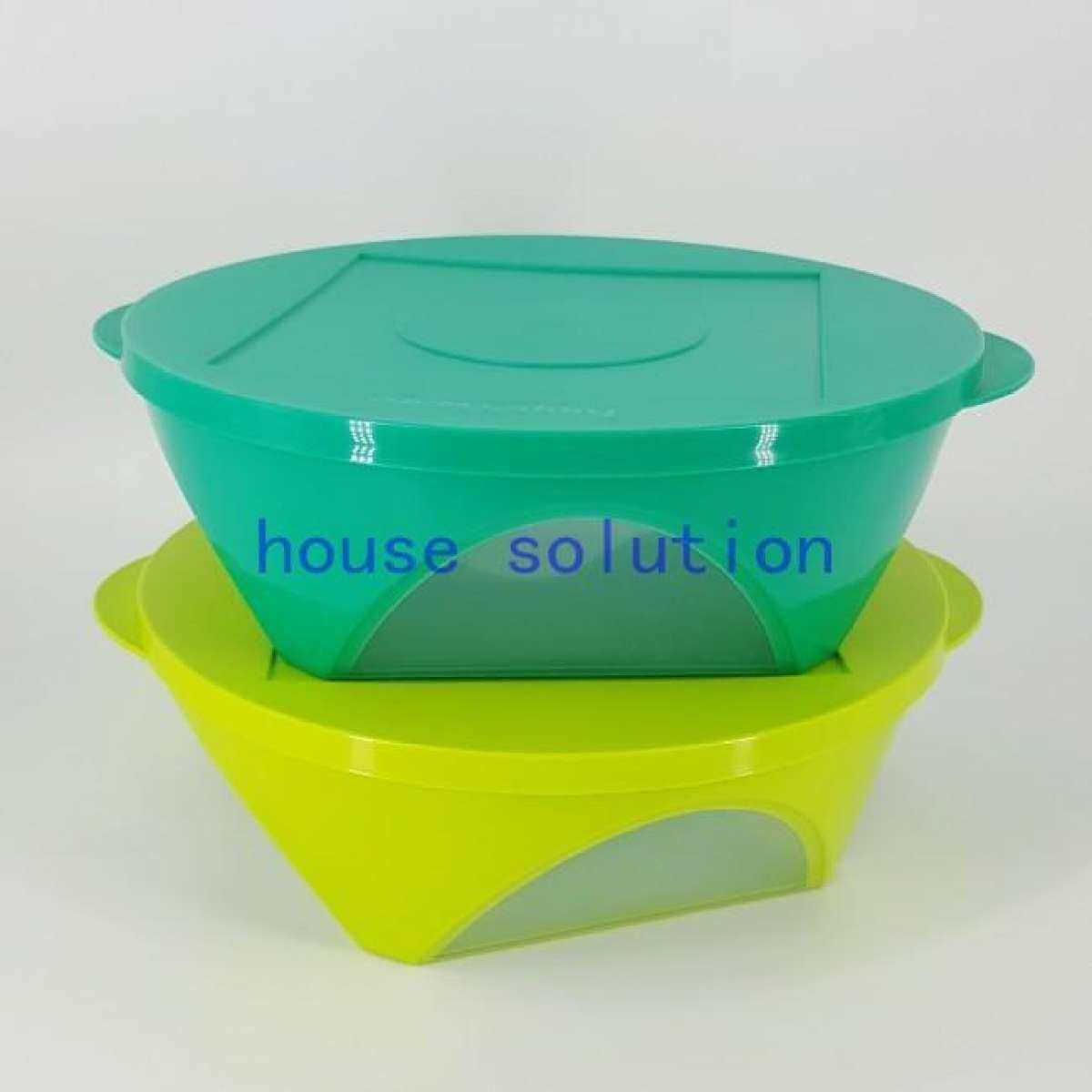 Tupperware Outdoor Emerald Dining Bowl 2 5l Green Set Of 2 Lazada