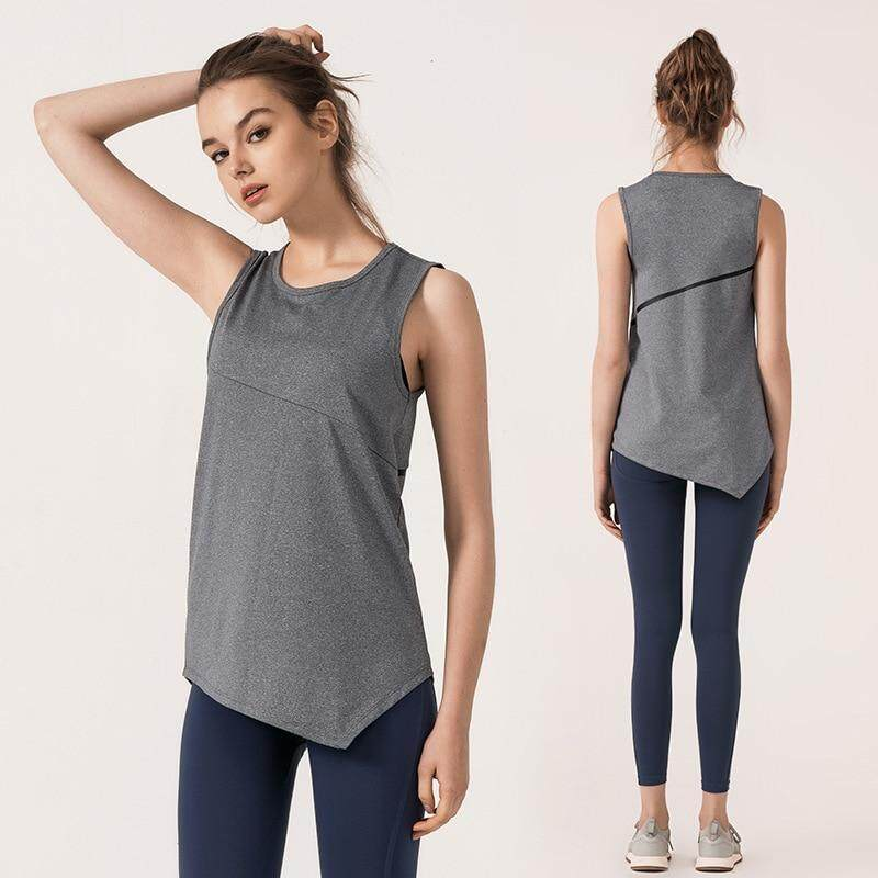 62dfad237 Women Yoga Shirts Sleeveless Gym Cropped Top Women Fitness Tank Top Quick  Dry Workout Vest Running