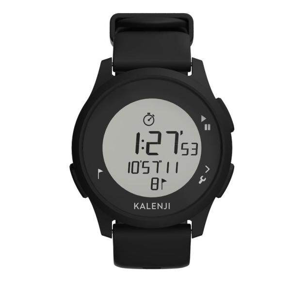 Kalenji Waterproof Unisex Running Sport Hand Stop Watch - Black x1 Men Women Outdoor Water Resistant Swimming Athletes Time Training Stopwatch Accessories Malaysia