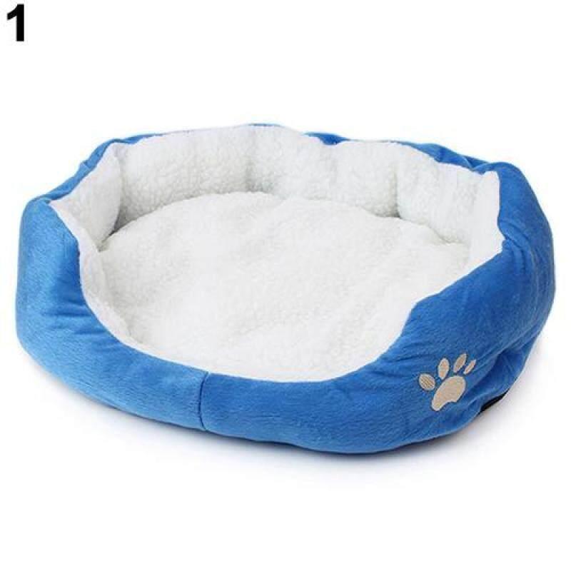 Huanhuang®Mùa Đông Ấm Áp Chó Mèo Thời Trang Chó Con Thoải Mái Đệm Ngồi Mềm Giường Thảm Lót Cho Thú Cưng