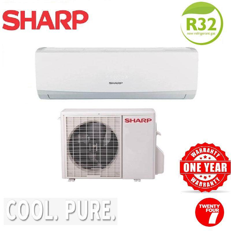 (Pre-Sales)Sharp Air Conditioner non-inverter 1.0HP AHA9WCD / AUA9WCD Aircond