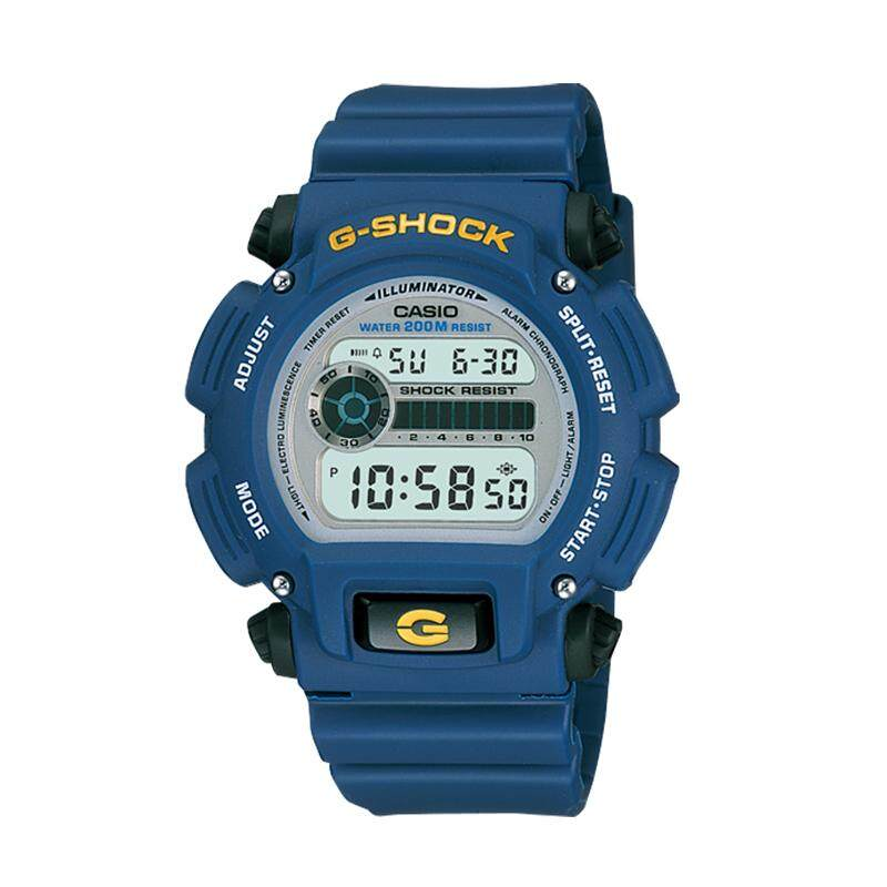 [BDAY SALE] [100% Original G SHOCK]Casio G-Shock Standard Digital Blue Resin Watch DW9052-2V DW-9052-2V (watch for man / jam tangan lelaki / casio watch for men / casio watch / men watch / watch for men) Malaysia