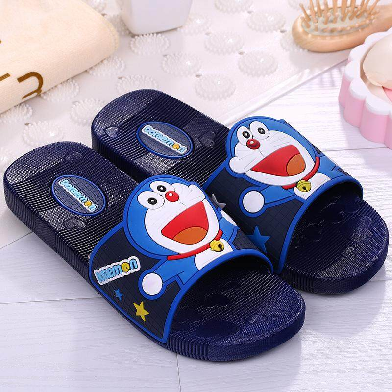 49444dcb9d Women's Slippers Doraemon Nightmare Cat Cartoon Women's Home Summer Indoor  Slippers Girls Beach Slippers
