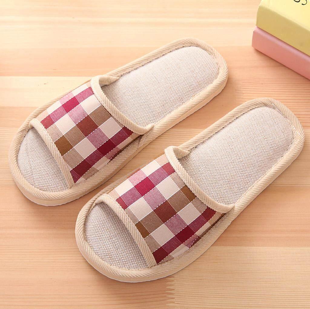 Couple Slipper Camera Cone Print Flip Flops Unisex Chic Sandals Rubber Non-Slip House Thong Slippers