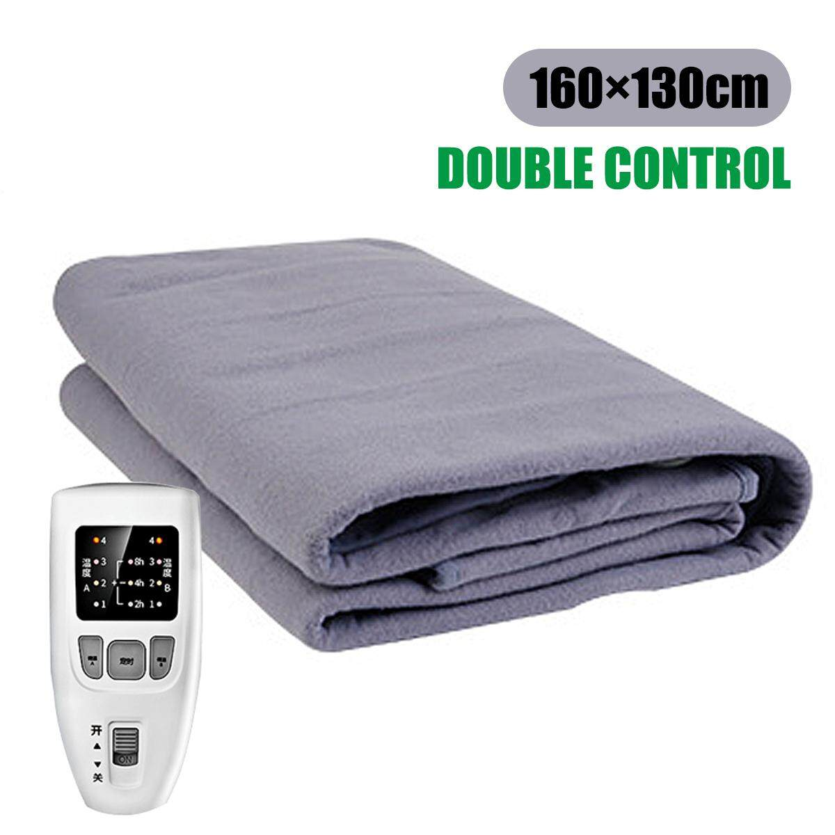 Controller Queen Size Electric Heated Flannel Blanket Warm Winter Cover Heater