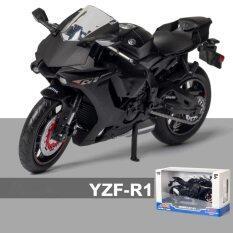 Đồ Chơi Mô Hình Xe Mô Tô Hợp Kim Yamaha YZFR1 1/12 Xe Bộ Sưu Tập Autobike Đồ Chơi Xe Địa Hình Giảm Xóc Ngắn, Xe