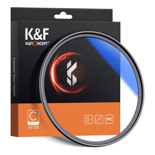 K&F CONCEPT 62mm Ultra Slim Multi Coated MC UV HD Lens Filter Compatible with Canon Nikon Sony DSLR Camera Lens thumbnail