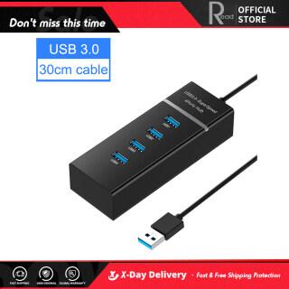 Còn Hàng Hub USB 3.0 4 Cổng 5Gbps Bộ Chia Mở Rộng Di Động Cho Máy Tính Xách Tay PC thumbnail