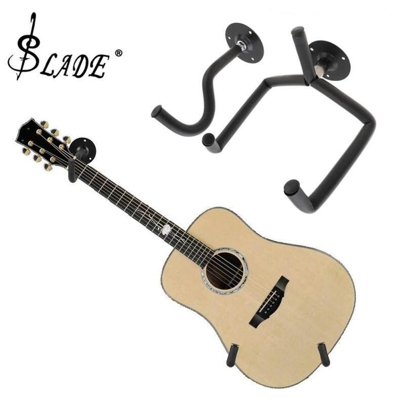 SLADE Acoustic Guitar Hanger Hook Horizontal Guitar Wall Mount Holder Bracket with Screw Set Malaysia