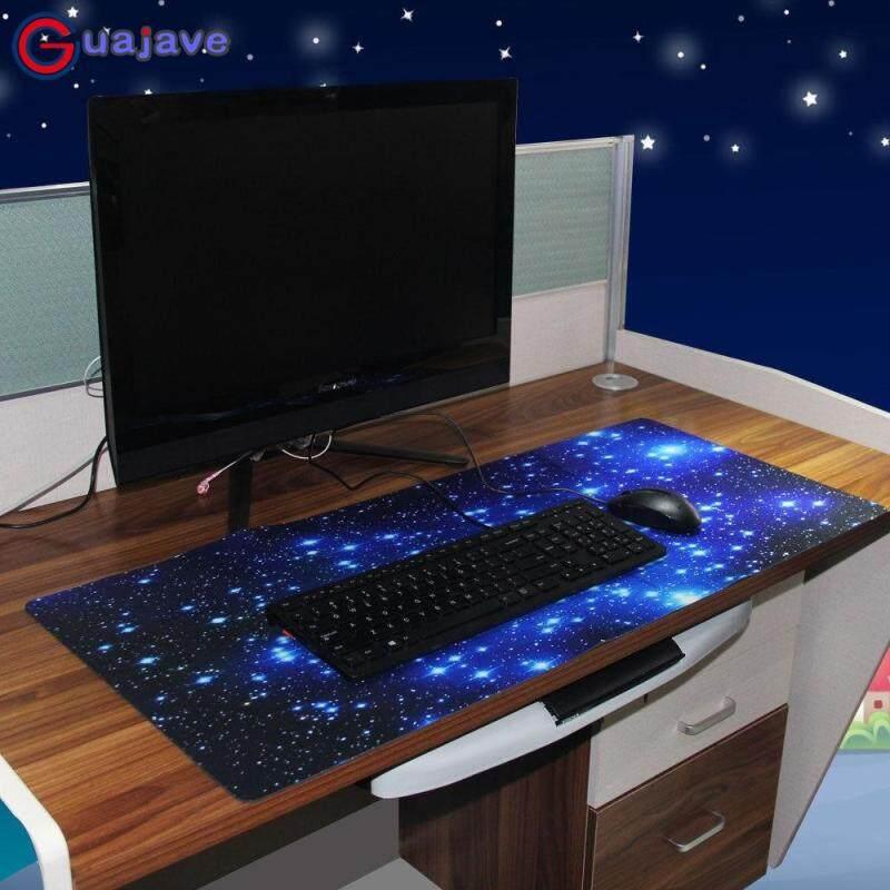 Giá Guajave Galaxy Chống Trơn Trượt Laptop Máy Tính Chơi Game Lớn Miếng Lót Chuột Bàn Phím Thảm Màu Sắc: Màu Xanh Dương)