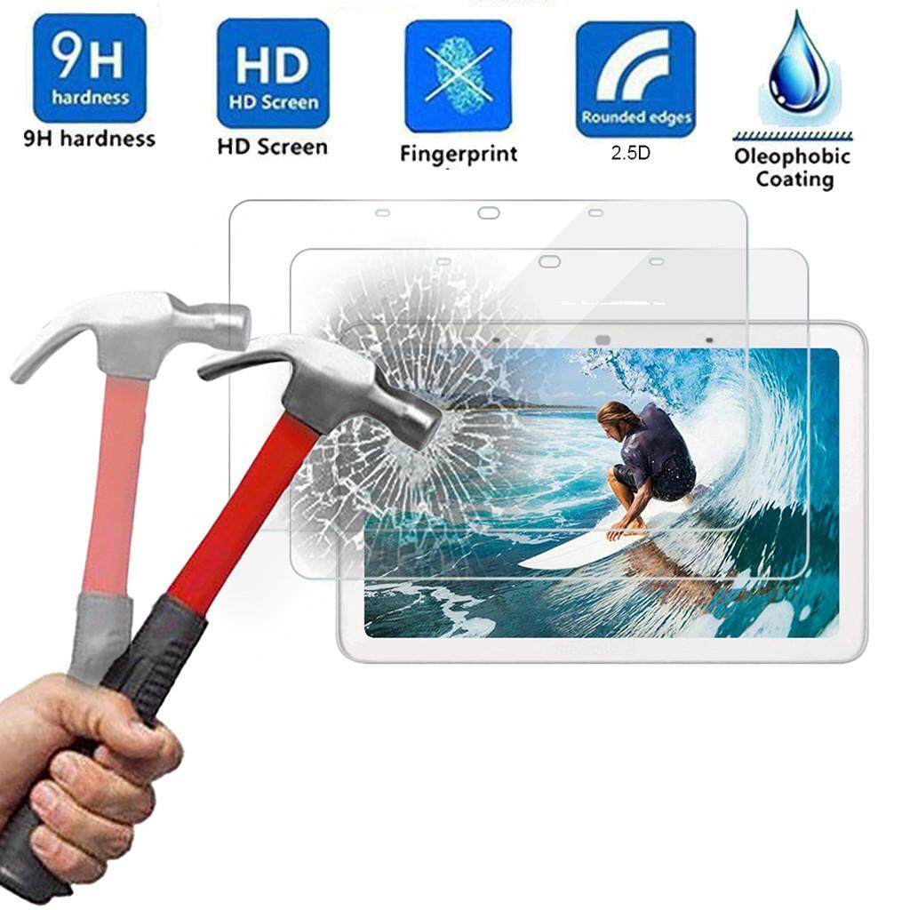 Bloomyshop 2Pcs 9H HD Tempered Glass Screen Film Protector For Google Home Hub 8 Inch New