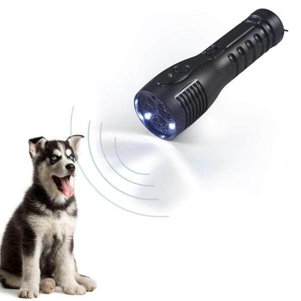 Thiết Bị Đuổi Chó Cưng, Máy Tập Siêu Âm Cầm Tay Có Đèn Pin, Thiết Bị Đuổi Chó Đa Năng Ftion Hàng Mới Về