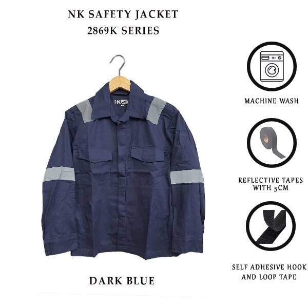 NK SAFETY JACKET 2869K - DARK BLUE