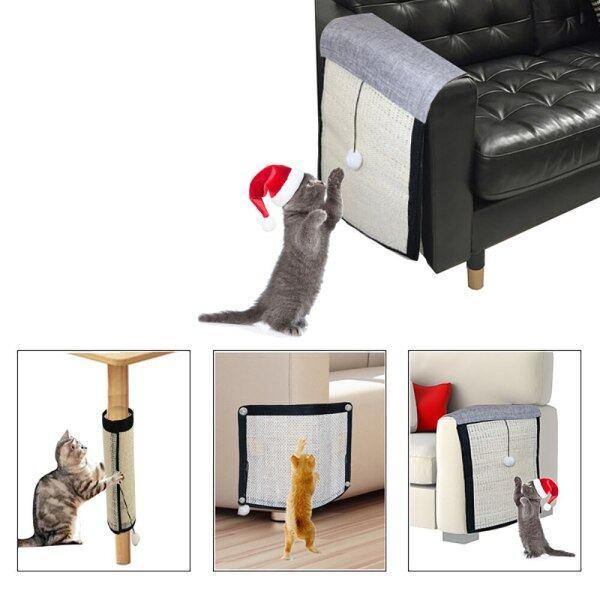 Mèo Kitten Bàn Cào Móng Cho Mèo Cưng Đồ Nội Thất Đệm Bảo Vệ Salu Scratcher Mat Chăm Sóc Móng Đồ Chơi Cho Mèo Sofa Gãi Bài Bảo Vệ