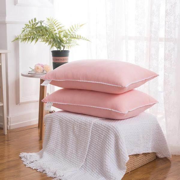 Washed Cloud Cotton Pillow Washable Feather Velvet Soft Pillow Lace Single Pillow