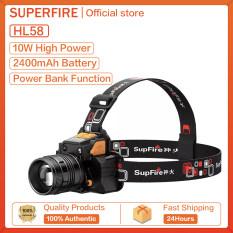 Supfire Đèn LED Thu Phóng HL56 Đèn Làm Việc Mini Cầm Tay Đèn Pin Độ Sáng Cao 450LM Săn Bắn Ngoài Trời HL58