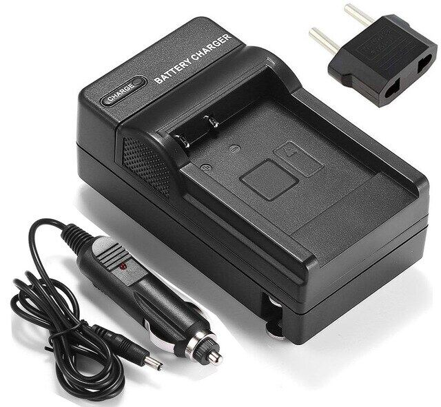 LCD Quick Battery Charger for Hitachi DZ-MV380E DZ-MV580E DZ-MV550E DZ-MV780E Camcorder DZ-MV730E DZ-MV750E