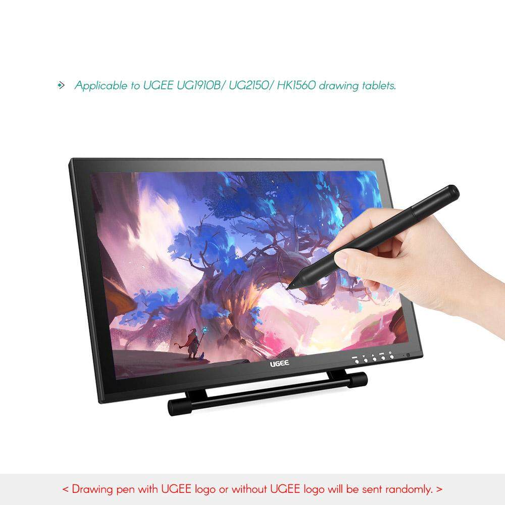 UGEE P50SD Rechargeable Stylus Drawing Tablet Pressure Pen with USB Charging Cable for UG1910B/ UG2150/ HK1560 Tablet (Black)
