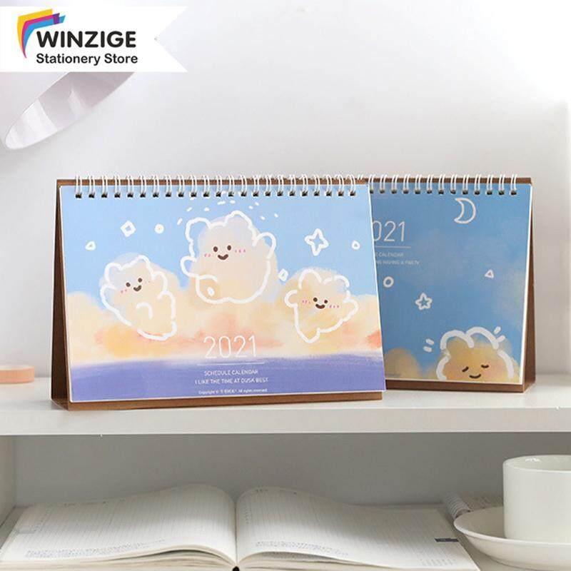 Winzige 2021 Ins Lịch Để Bàn Nhật Ký Kế Hoạch Chương Trình Nghị Sự Văn Phòng Sinh Viên Văn Phòng Phẩm