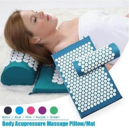 Bảng giá [100% Chính Hãng] Máy Massage Đệm Châm Cứu Bộ Giảm Căng Thẳng Đau Lưng Bấm Huyệt/Gối Massage Thảm Hoa Hồng Gai massage Thư Giãn
