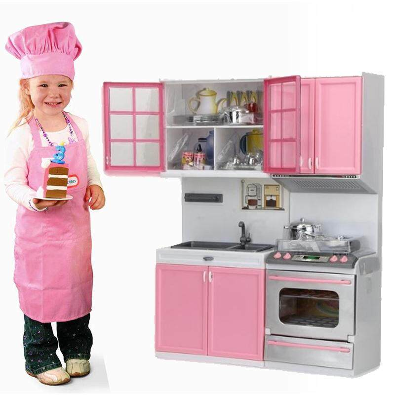Diy Kitchen Pretend Cooking Playset Educational Furniture Plastic House Play Kids By Michelle Trading.