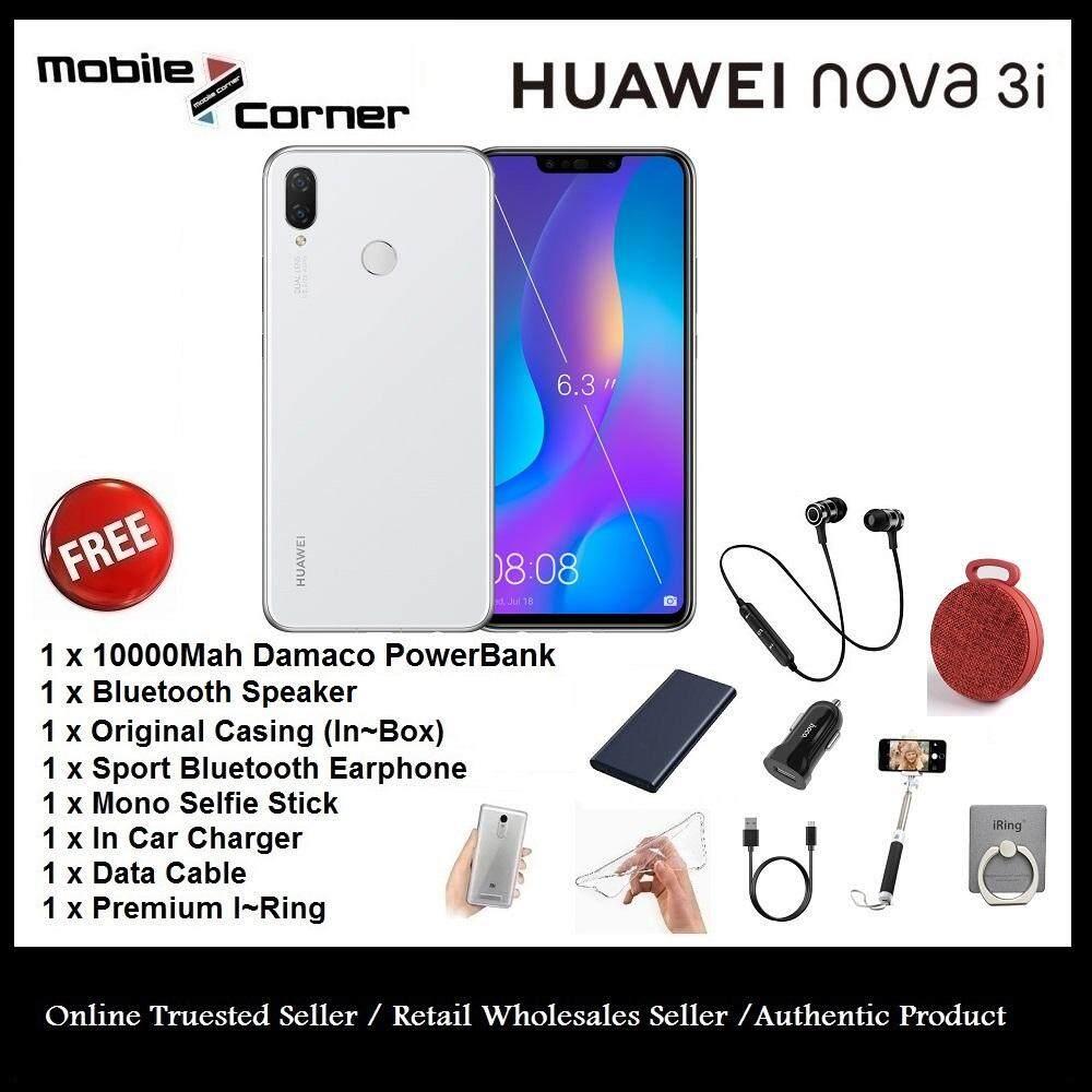 Huawei Nova 3i [128GB ROM/4GB RAM] Original Set + Free Gift