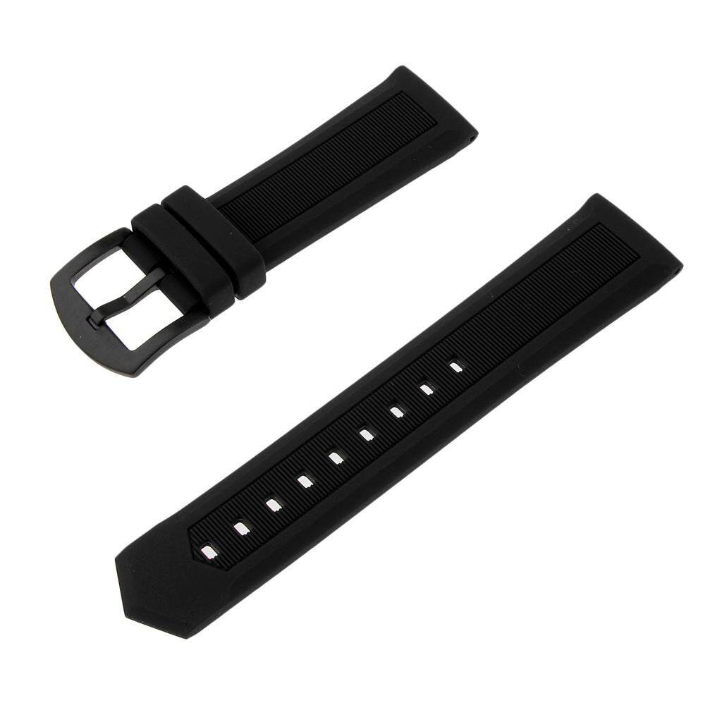 Adjustable Replacement Watchband Quick Release Needle Buckle Watch Band Metal Clasp Wrist Band Strap for 21mm Men Women Watch Malaysia