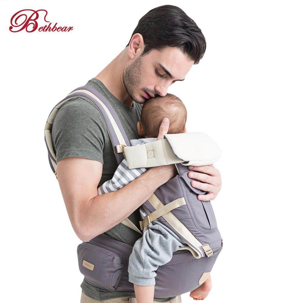 Bethbear 3 In 1 Hipseat Gendongan Bayi Ergonomis 0-36 Bulan Bungkus Bayi Ransel Selempang By Islandmall.