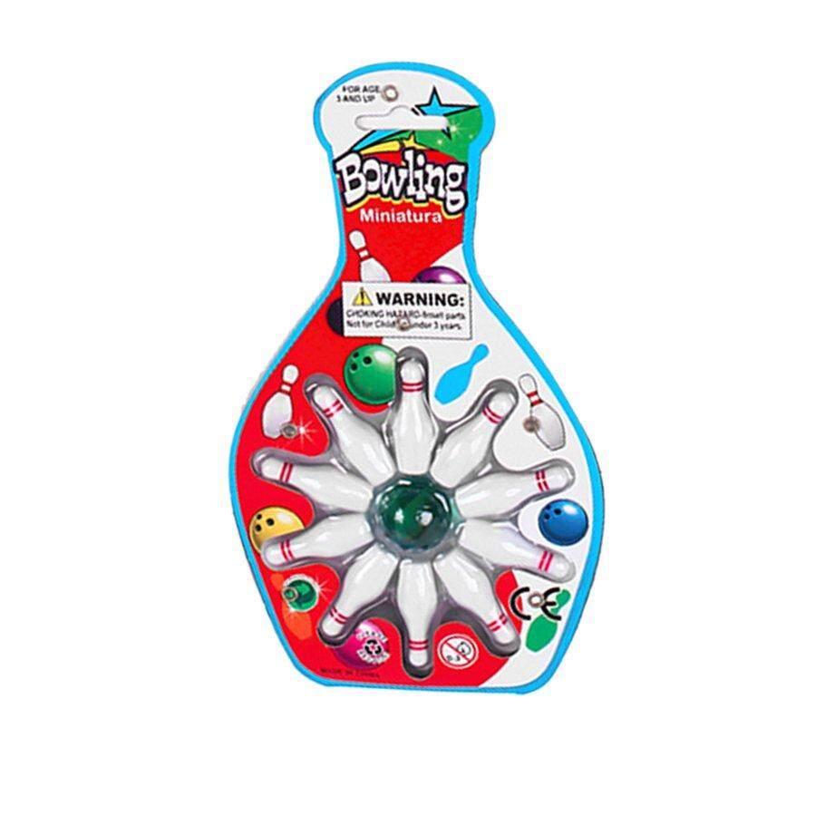 โรงแรมโต๊ะเล็ก Top ชุดเล่นเกมโบว์ลิ่งของเล่นเด็ก - 10 โบว์ลิ่งและ 1 หินอ่อน Pinball By Beaujasmine.