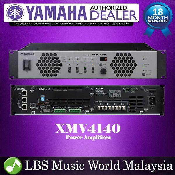 Yamaha XMV4140 4 channel 140W X 4 Power Amplifier Amp Mixer (XMV 4140)