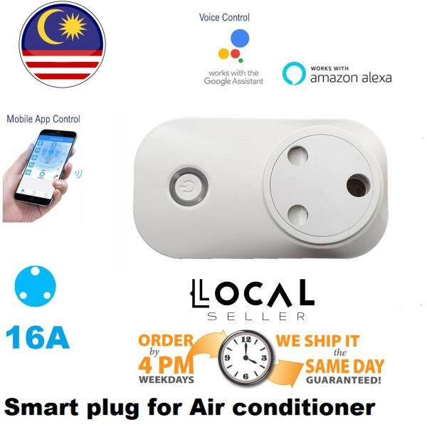 Smart WIFI AirCond Plug Socket Switch APP Remote Control Timer