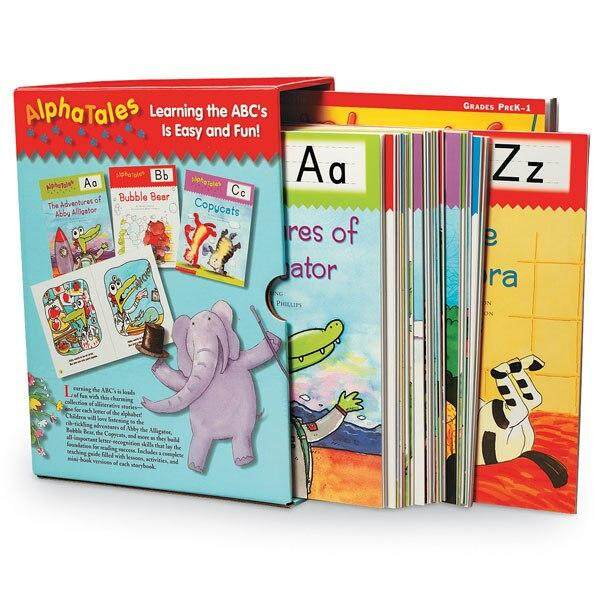 Kids Early Learning ABC Alphabet Storybooks Educational Children Story Picture Books Sight Word Phonics Alphates Tales Baby Book