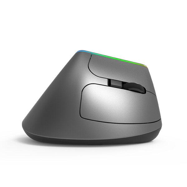 Chuột Không Dây Dọc Delux M618C Chuột 3D Quang Học 1600DPI Tiện Dụng 6 Nút Với Đèn LED Dành Cho Máy Tính Xách Tay PC