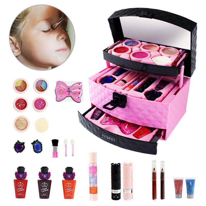 Goodgreat 22pcs Fashion Princess Girl Beauty Makeup Set Toy Cosmetic Kids Role Play Pretend By Good&great.