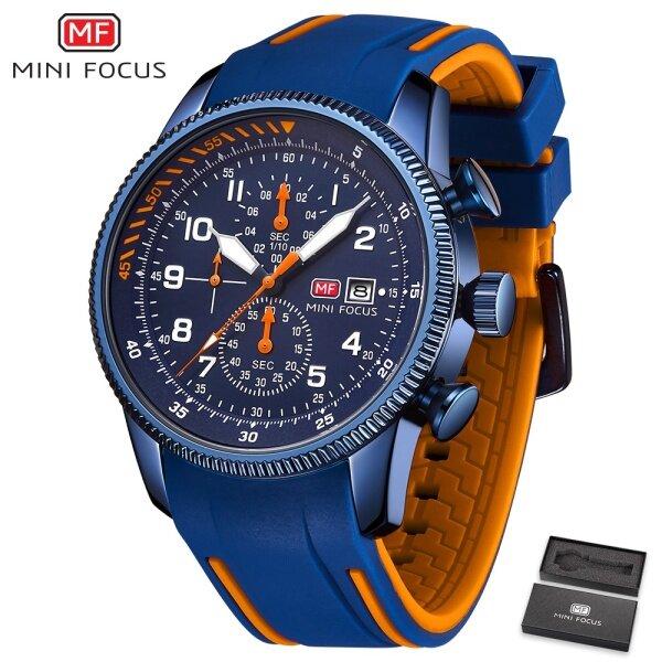 MINI FOCUS Top Luxury Brand Watch Famous Fashion Sports Men Watches Quartz Wristwatch For Male MF0379G Malaysia